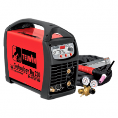 TELWIN TECHNOLOGY TIG 230 DC-HF/LIFT VRD ΗΛΕΚΤΡΟΚΟΛΛΗΣΗ TIG INVERTER